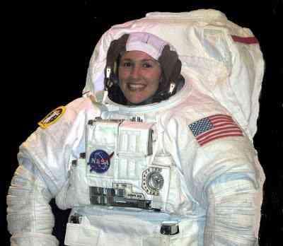 A nova roupa de astronauta