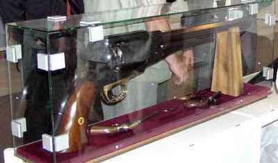 O maior revólver do mundo