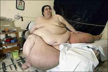 O homem mais gordo do mundo