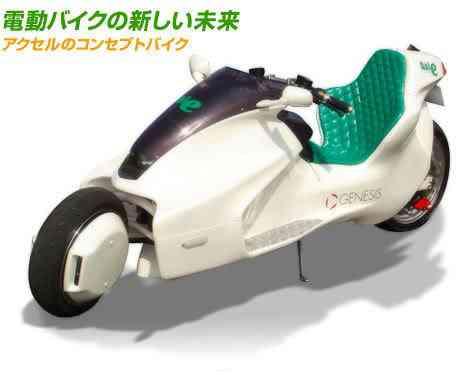 Moto elétrica japonesa