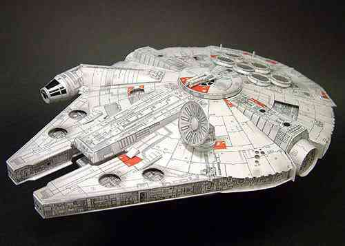 Papercraft de Star Wars
