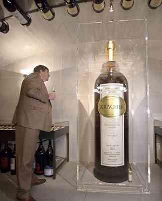 A maior garrafa de vinho do mundo