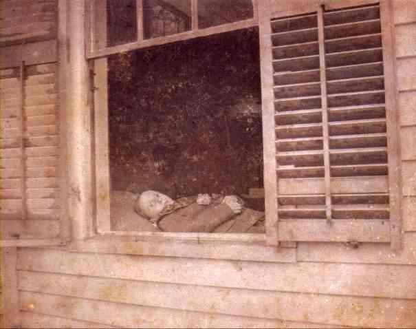 Álbum de fotos dos mortos