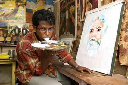 Ani K o cara que pinta com a língua