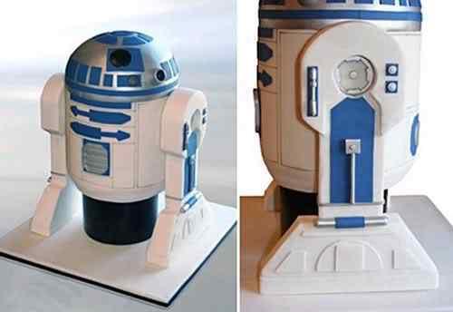 Bolo para viciado em Star Wars e outros bolos bizarros