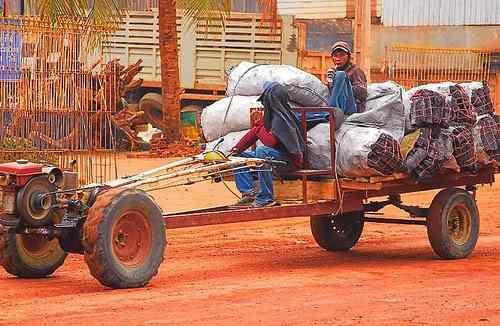 A arte de transportar