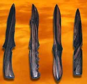 Coisas incríveis feitas de madeira