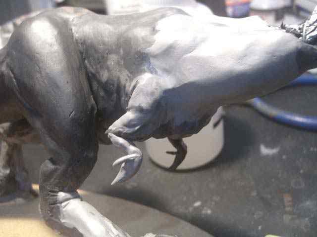 Aqua Rex parte 2 - Cobrindo com massa