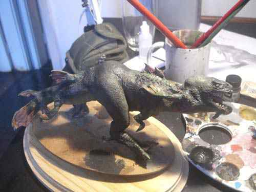 Aqua Rex 4 - Finalização e pintura