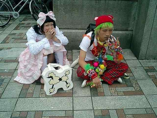 As figuraças de Harajuku