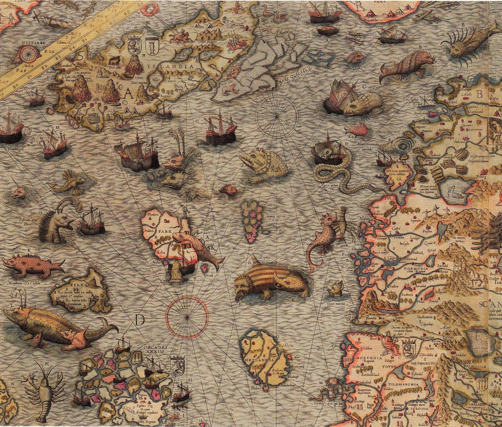 Criptozoologia cartográfica?