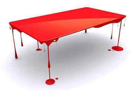 Blood table - A mesa invisível