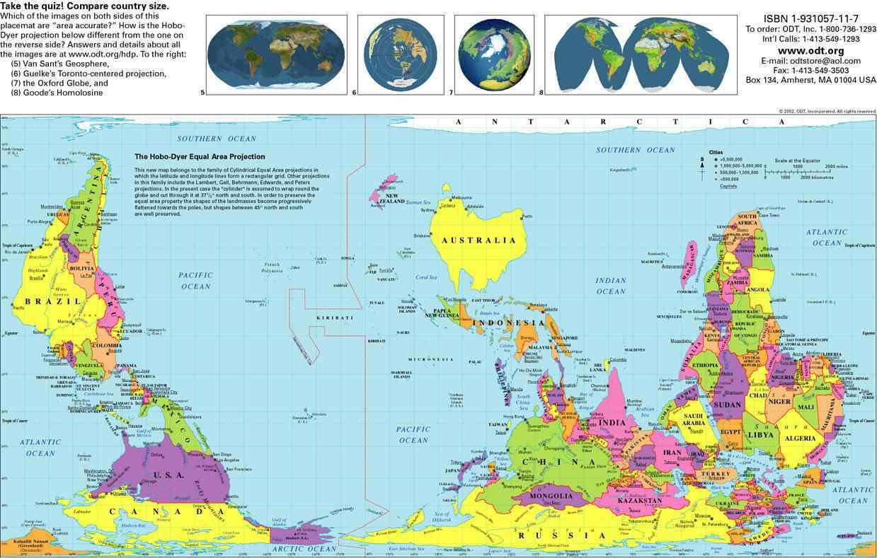 O mapa do mundo e outras coisas