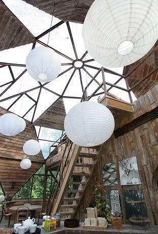 A casa esfera