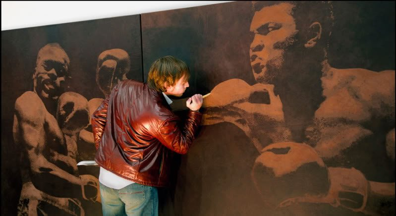 O couro e a arte de Mark Evans
