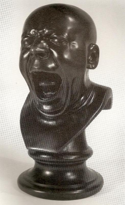 FranzXaverMesserschmidtTheYawnermod Estranhas esculturas do século XVIII