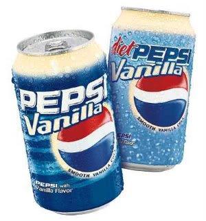 Estranhos sabores da Pepsi