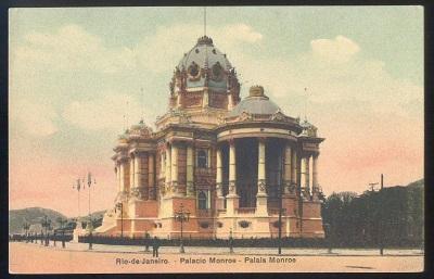 A volta do palácio Monroe