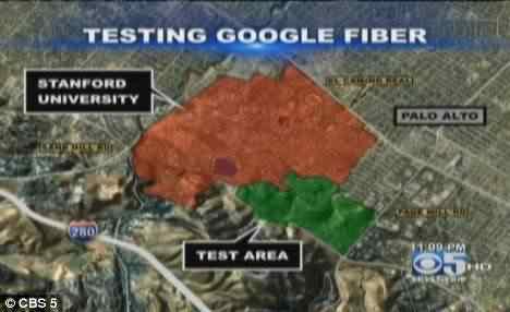 Google testa a super banda larga