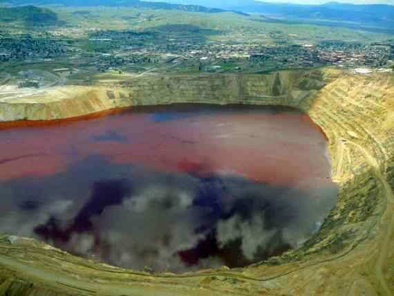 O poço mais contaminado do mundo