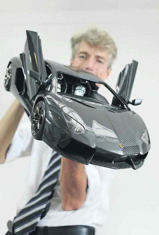 A miniatura de carro mais cara do mundo