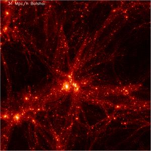 O Bolshoi e a simulação cosmológica
