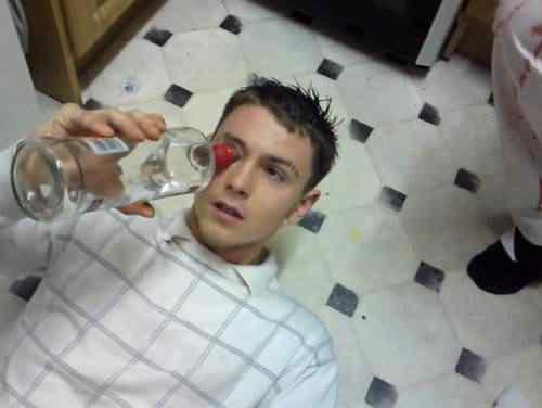 Vodka Eyeballing - O jeito mais bizarro de ficar bêbado