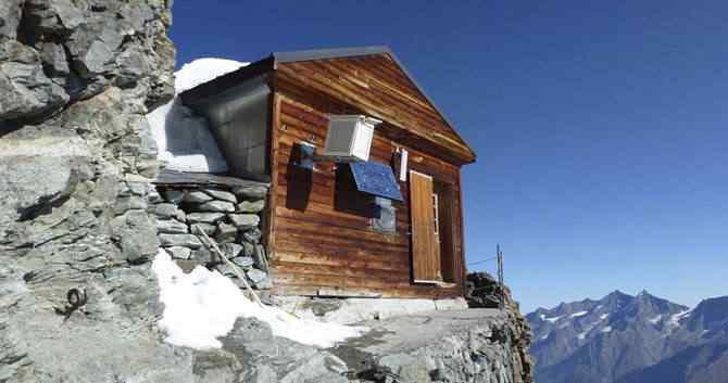 Uma casinha na beirada do precipício