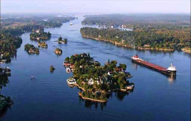 O rio das mil Ilhas absurdamente sensacionais