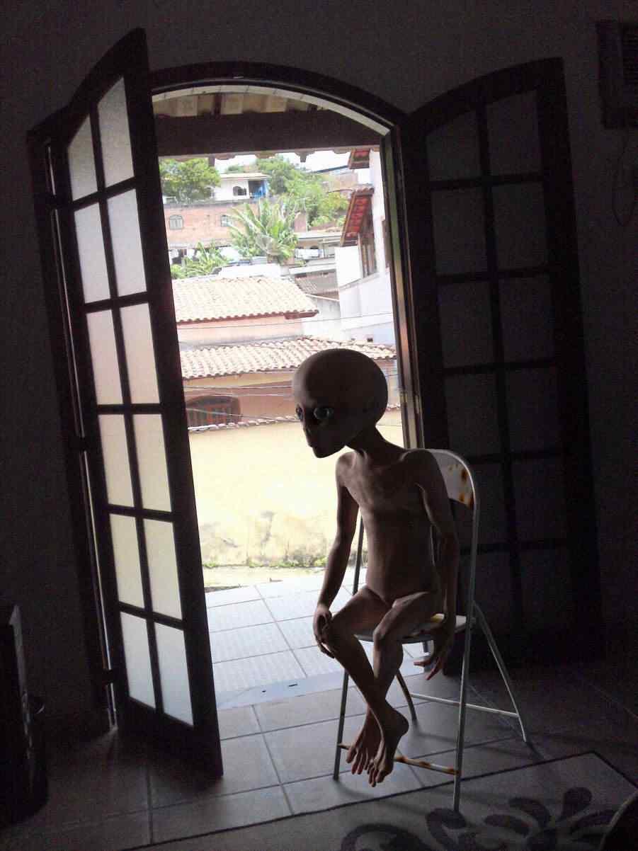 BOMBA! INCRÍVEL! Alienígena de Andrômeda confirma: Juca é real!