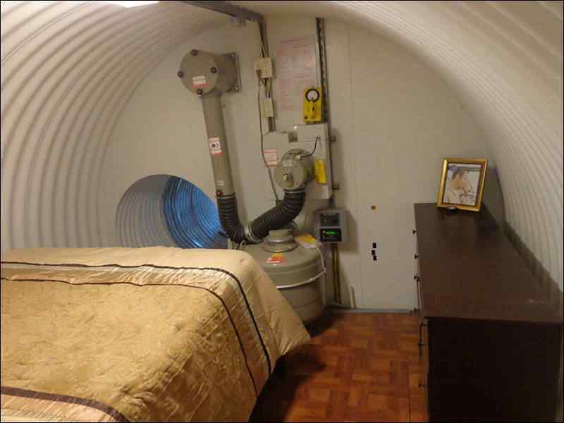 O Bunker de luxo de Ron Rubbard