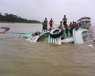 "Atravessando o rio Amazonas ""like a boss"""