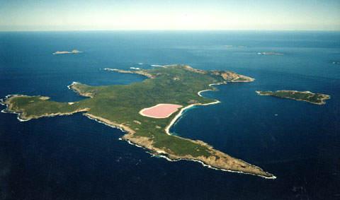O mistério dos lagos cor de rosa