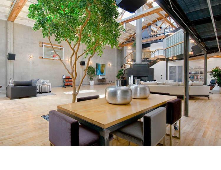 Warehouse Converted into Luxury Loft Apartment in San Francisco 14 Solteiro em busca de ideias? Olha aí uma casa sensacional!