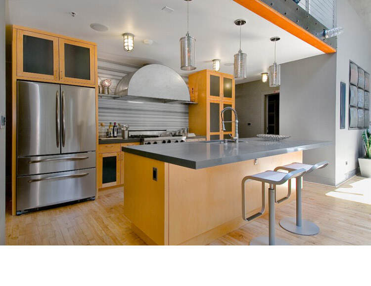 Warehouse Converted into Luxury Loft Apartment in San Francisco 16 Solteiro em busca de ideias? Olha aí uma casa sensacional!