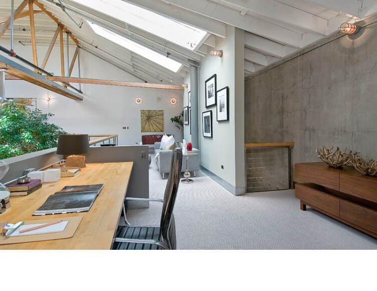 Warehouse Converted into Luxury Loft Apartment in San Francisco 23 Solteiro em busca de ideias? Olha aí uma casa sensacional!