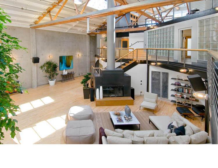 Warehouse Converted into Luxury Loft Apartment in San Francisco 25 Solteiro em busca de ideias? Olha aí uma casa sensacional!