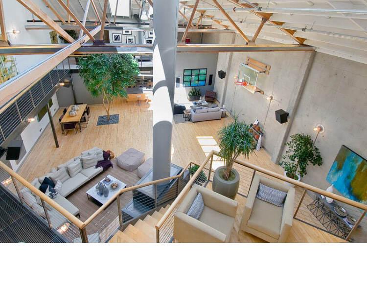 Warehouse Converted into Luxury Loft Apartment in San Francisco 37 Solteiro em busca de ideias? Olha aí uma casa sensacional!