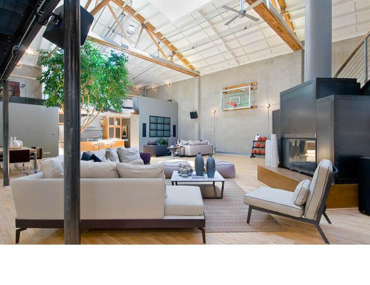 Warehouse Converted into Luxury Loft Apartment in San Francisco 5 Solteiro em busca de ideias? Olha aí uma casa sensacional!