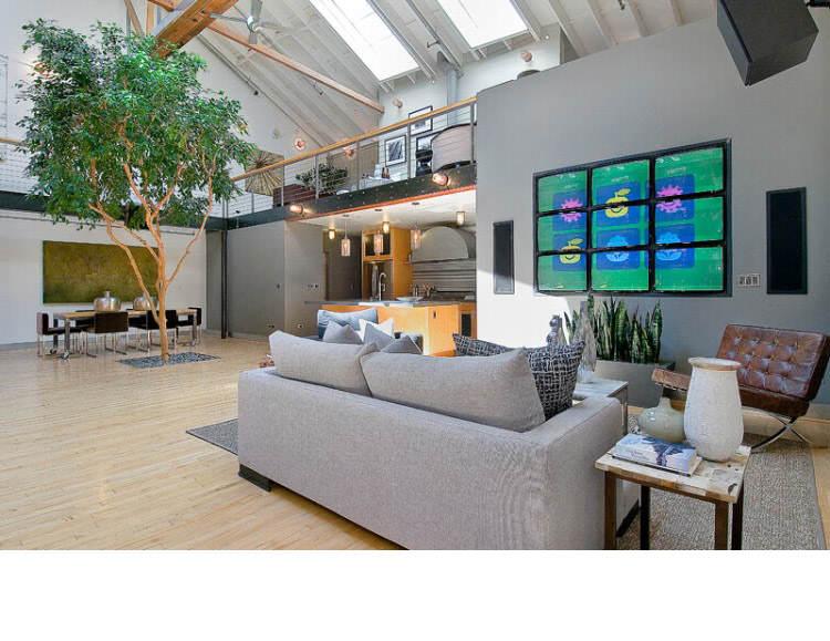Warehouse Converted into Luxury Loft Apartment in San Francisco 9 Solteiro em busca de ideias? Olha aí uma casa sensacional!