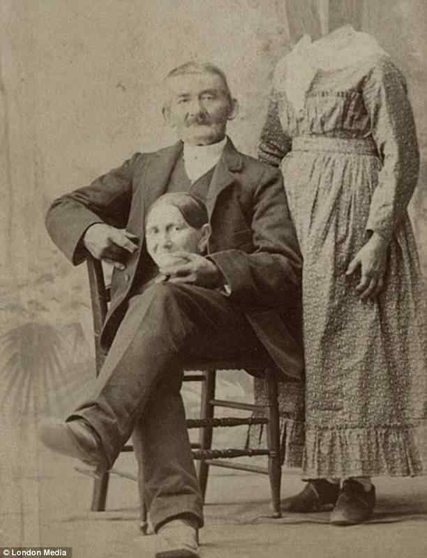 As pessoas sem cabeça do século XIX