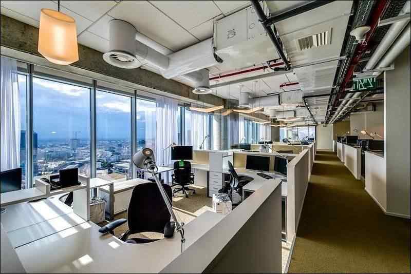 O novo escritório do Google em Israel