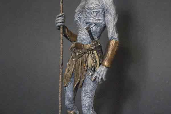 White Walker  -  pintura e finalização