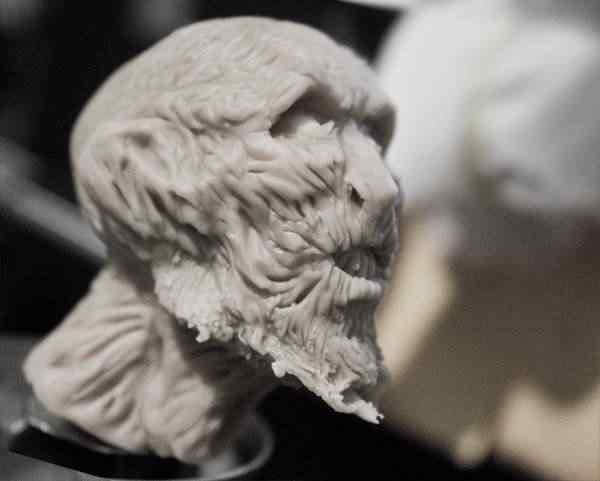 Próxima escultura: White Walker