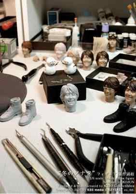 f1 Conheça os doidos escultores da Hot Toys