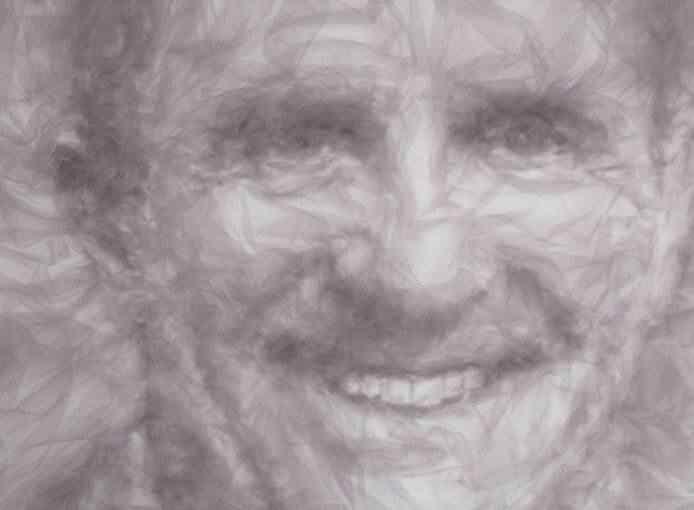 26 michael A incrível arte de Benjamin Shine usando ferro de passar