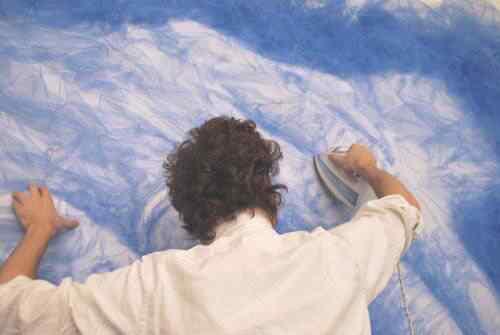 Benjamin Shine tulle A incrível arte de Benjamin Shine usando ferro de passar