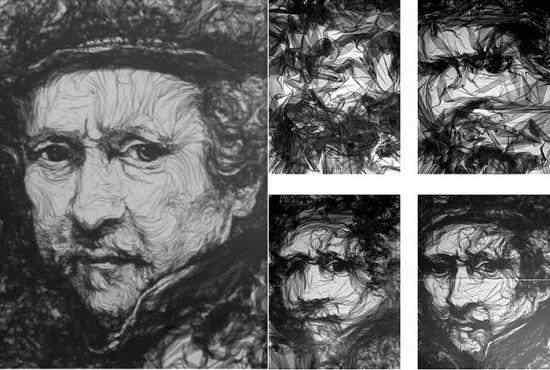 Benjamin Shine tulle5 550x370 A incrível arte de Benjamin Shine usando ferro de passar