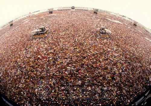 80.000 pessoas - a lotação maxima do Rock in Rio