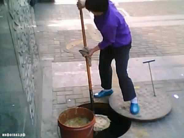 china slop1 Comida feita no óleo de esgoto   Mais nojeira direto da China